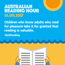 Children who know adults who read