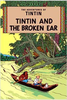 tin tin broken ear