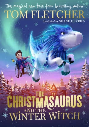 christmasaurus winter witch