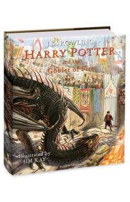 goblet of fire illustrated