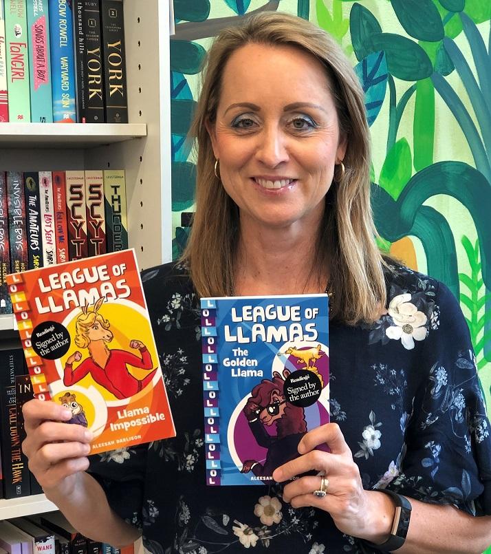 Aleesah llama books_March 2020