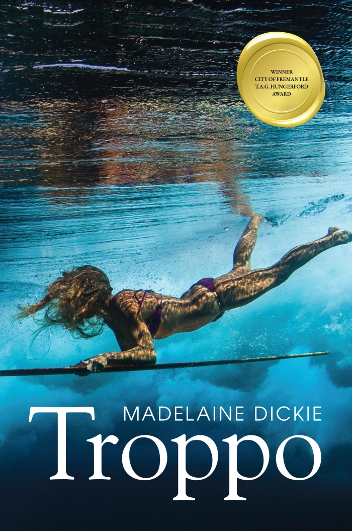 Madelaine's first novel Troppo won the City of Fremantle Hungerford Award