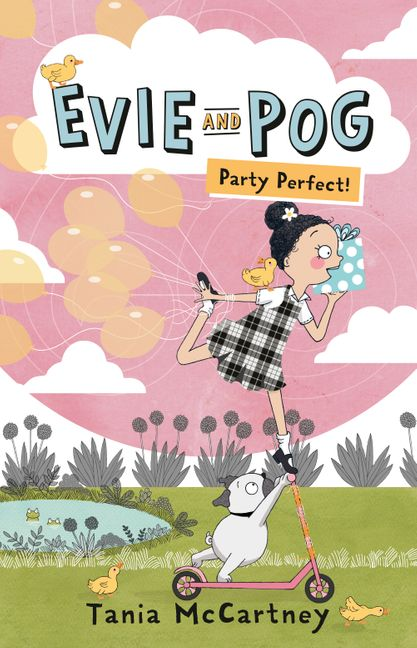 Evie and Pog Party Perfect