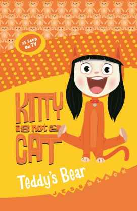 Kitty is not a cat teddys bear