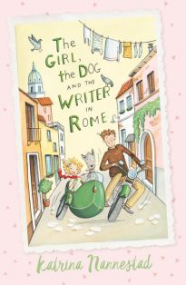 the girl the dog and the writer in rome